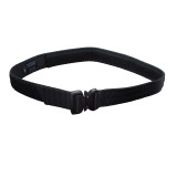 instructor's gun belt with cobra buckle