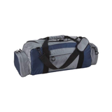 diversion carry workout bag gray and blue