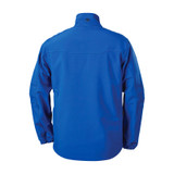 Tac Life Softshell Jacket JK02AB back Admiral Blue