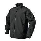 Tac Life Softshell Jacket JK02BK Front Black