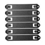 38C506BK Speed Clips Six Pack, #5 - Black