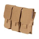 37CL04CT S.T.R.I.K.E.® M4/M16 Triple Mag Pouch (holds 6) - MOLLE - COYOTE TAN