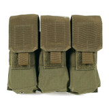 37CL04OD S.T.R.I.K.E.® M4/M16 Triple Mag Pouch (holds 6) - MOLLE - OLIVE DRAB