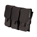 37CL106BK S.T.R.I.K.E.® Triple MP-5 Mag Pouch - MOLLE - BLACK
