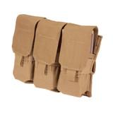 37CL106CT S.T.R.I.K.E.® Triple MP-5 Mag Pouch - MOLLE - COYOTE TAN
