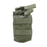 37CL118RG S.T.R.I.K.E.® Tier Stacked M16/M4/PMAG Mag Pouch - MOLLE - RANGER GREEN