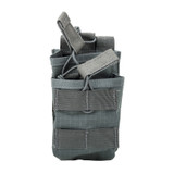 37CL119UG S.T.R.I.K.E.® Tier Stacked SR25/M14/FAL Mag Pouch - MOLLE - URBAN GRAY