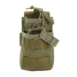 37CL119OD S.T.R.I.K.E.® Tier Stacked SR25/M14/FAL Mag Pouch - MOLLE - OLIVE DRAB