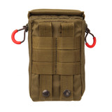 37CL124CT S.T.R.I.K.E.® Compact Medical Pouch - COYOTE TAN BACK