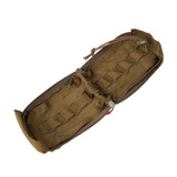 37CL124CT S.T.R.I.K.E.® Compact Medical Pouch - COYOTE TAN OPEN