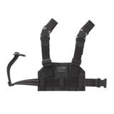 37CL125BK S.T.R.I.K.E.® Compact Drop-Leg Platform - BACK BLACK