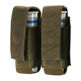 37CL22OD S.T.R.I.K.E.® Double 40mm Grenade Pouch - MOLLE - OLIVE DRAB