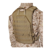 37CL85CT S.T.R.I.K.E.® Lightweight Commando Recon Back Panel - Small/Medium - COYOTE TAN