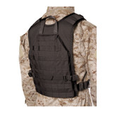37CL86BK S.T.R.I.K.E.® Lightweight Commando Recon Back Panel - Large/X-Large  - black