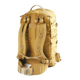 603D09CT - Velocity X3 Jump Pack - Coyote Tan - Back
