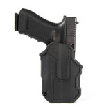 4102 - T-SERIES L2C LB HOLSTER GLOCK 17 FRONT ANGLE W/GLOCK IN HOLSTER IMAGE