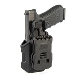 4102 - T-SERIES L2C LB HOLSTER GLOCK 17 BACK ANGLE W/GLOCK IN HOLSTER IMAGE
