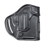 460003BKL - MBOSS Leather Pancake Holster - black - front