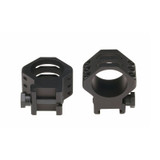 71TR16BK - Six-Hole Tactical Rings - 30mm high