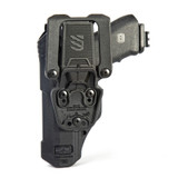 44N500BWR - T-Series L3D Non-Light Bearing Holster - Basketweave - glock back image