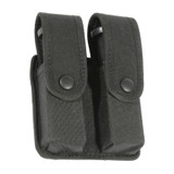 44A056BK - divided pistol mag case with inserts - black - single row image