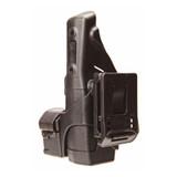 44H907BK-L - TASER® Side Mount Plate - attached to holster