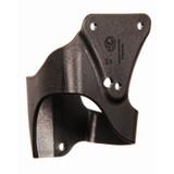 44H907BK-L - TASER® Side Mount Plate - front angle
