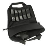 61GR01BK - gun rug pistol pouch - open