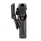 44N600 - T-Series L3D Light Bearing Holster - Basketweave - bottom profile image with Glock 17