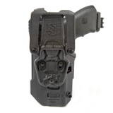 44N600 - T-Series L3D Light Bearing Holster - Basketweave - back image with Glock 17