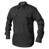 TS01BK - Pursuit Long Sleeve Shirt - Black - Front