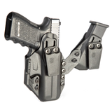 4160 - Stache™ IWB Holster - Premium Model - Front Angle w/o Holstered Firearm