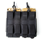 37FS44BK37FS44BK - Foundation Series 7.62 Double Mag Pouch - Back