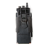 37FS50BK - Foundation Series Adjustable Radio/GPS Pouch - Front