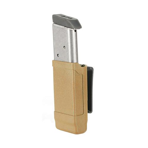 Single Mag Case-Single Row Matte Finish 9 mm/ 10mm/.40 Cal/ .45 Cal