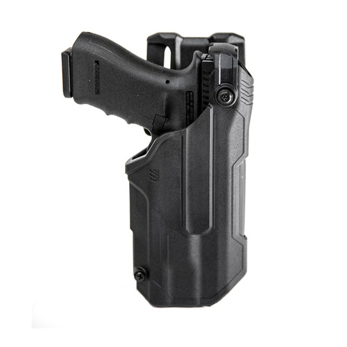 t-series l3d light-bearing duty holster front