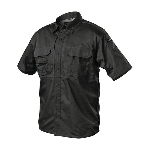 TS02BK - Pursuit Short Sleeve Shirt - Black