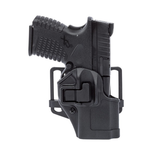 serpa cqc matte finish holster with weapon
