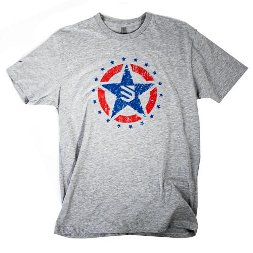 trident star logo tee