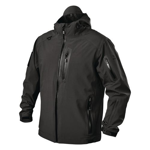 tactical waterproof jacket black