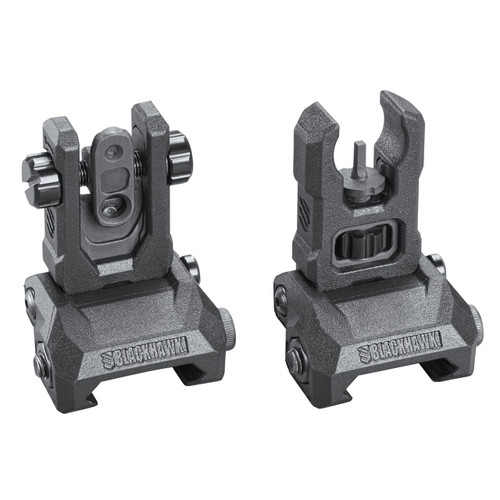 hybrid folding sights pair