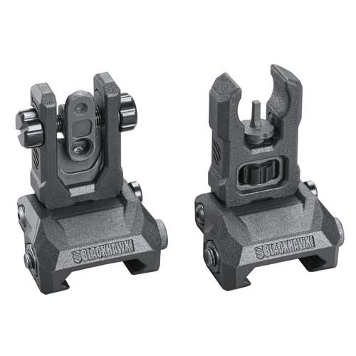 hybrid folding sights pair