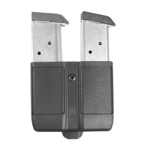 Double Mag Case - Single Row Matte Finish 9 mm/10mm/.40 Cal/.45 Cal