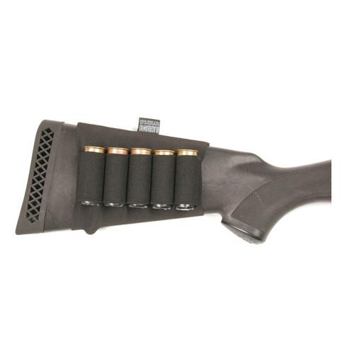 74SH02BK - BUTT STOCK SHELL HOLDER - BLACK - SHOTGUN