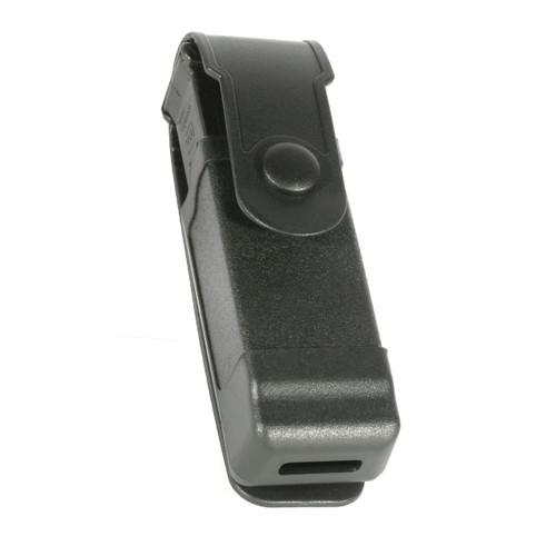 black tactical mag case