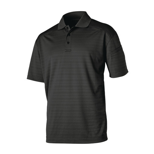 Black Cool React Polo