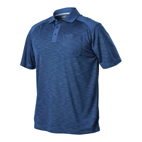 Admiral Blue Performance Polo