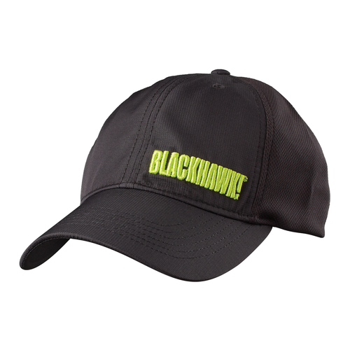 performance mesh cap black