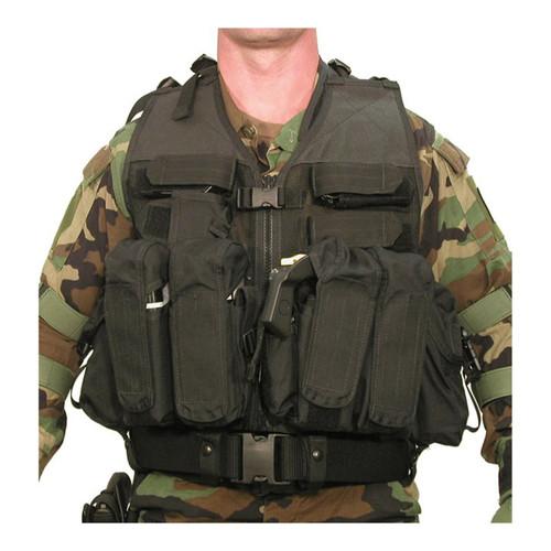 30DV00BK D.O.A.V. Assault Vest System - FRONT BLACK
