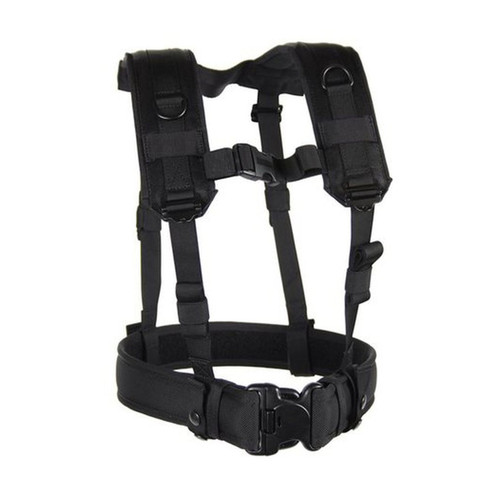35LBS1BK LOAD BEARING SUSPENDERS - BLACK
